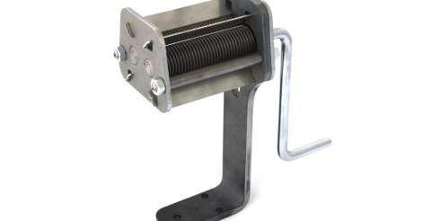 máquina manual de uso doméstico para cortar papel, hojas de té, hierbas etc. trezo eko 70 foto 1